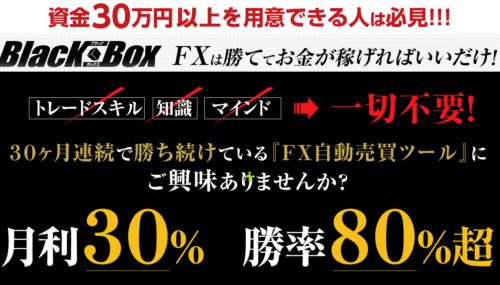 熊本圭佑 Blackbox FX自動売買ツールは稼げるか検証